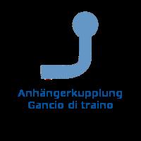Anhängerkupplung - Gancio di traino